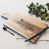 Personalised Wooden Chopping Board For Him