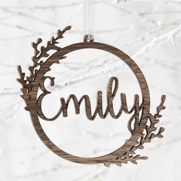 Personalised Wreath Decoration