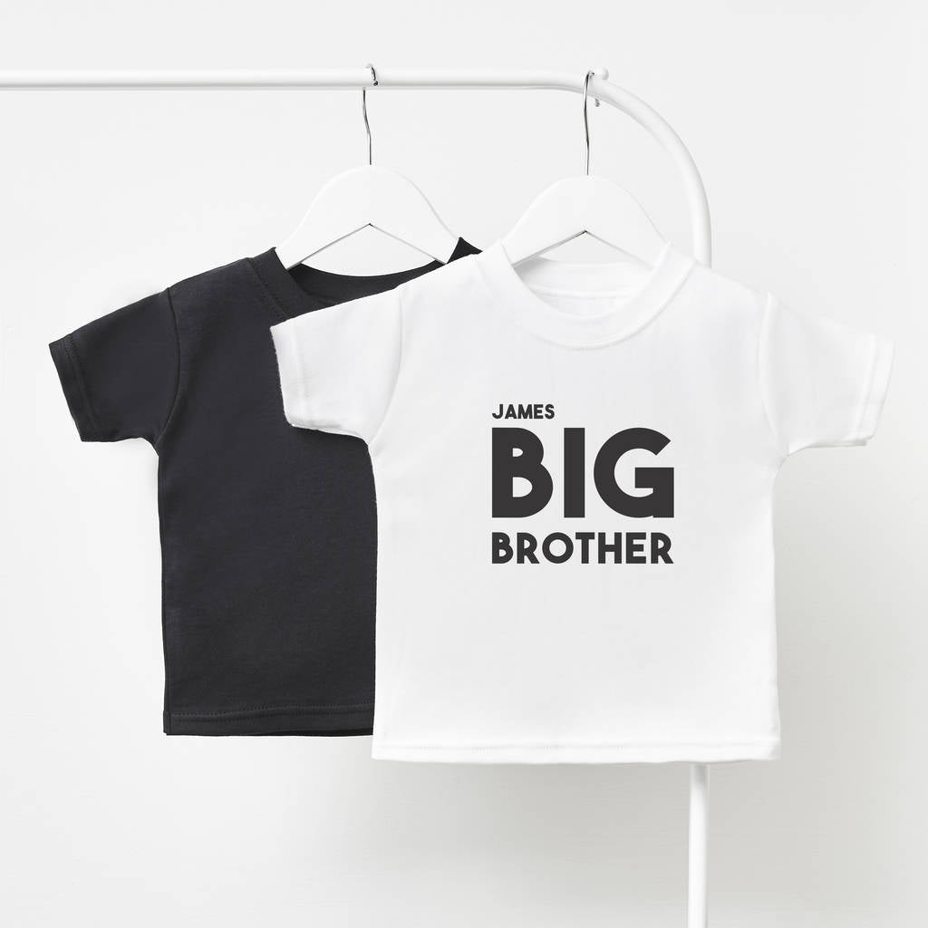Personalised Big Brother Children's T Shirt