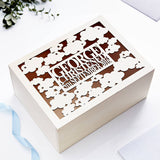 Starry Night Christening Keepsake Box