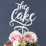 'The Cake' Personalised Cake Topper