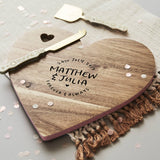 Wedding Personalised Chopping Board
