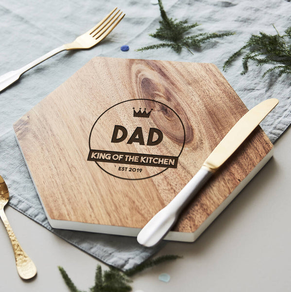 Wooden Personalised Chopping Board For Him