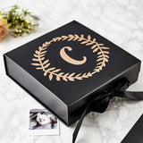 Wreath Personalised Initial Keepsake Box