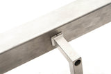 Stainless Steel Square Handrail - SimpleHandrails.co.uk