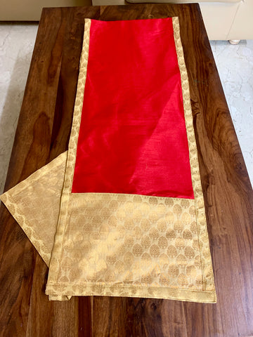 6 seater Table Runner: Paprika