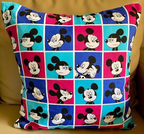"Mickey Mouse Blue 16""x16"""