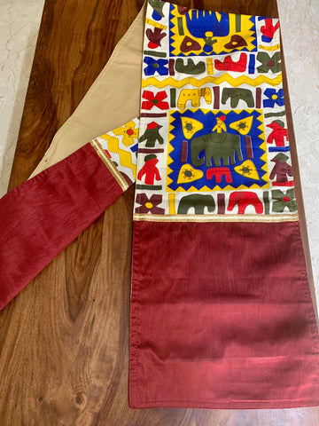 Rajasthan MultiMaroon Runner