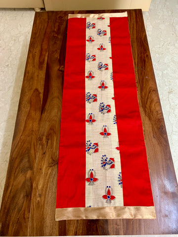 Red Peacock centretable