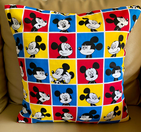 "Mickey Mouse Red 16""x16"""