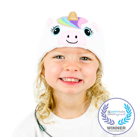 Kids Rainbow Unicorn - White