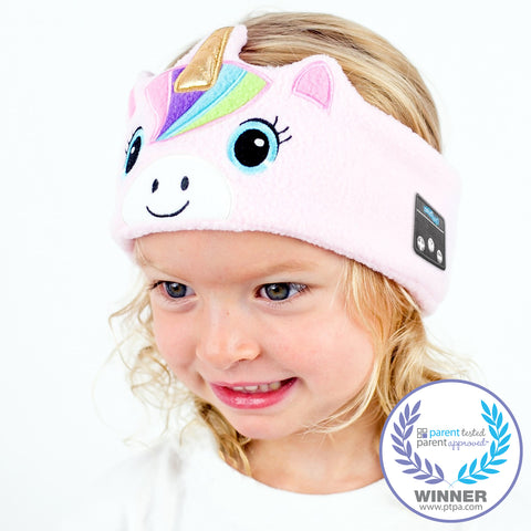 Kids Pink Rainbow Unicorn (Wireless)