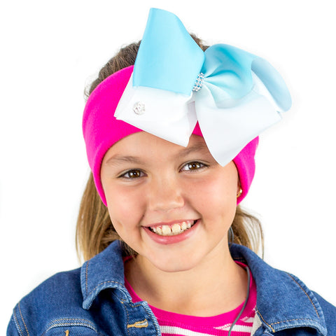 Kids JOJO SIWA CozyPhones w/ Detachable Bow Hair Clip