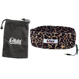 Leopard Sleep Headphones with Travel Bag