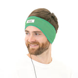 CozyPhones Sleep Headphones & Travel Bag - Green with Green Liner