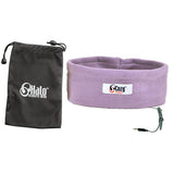 Violet Sleep Headphones with Travel Bag