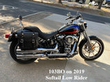 103 Bolt On Saddlebag on 2019 Harley Low Rider