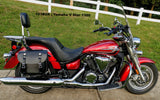 103BOX saddlebags on Yamaha V Star 1300