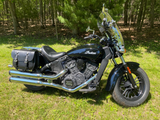 103+2 saddlebags on 2015 Indian Scout