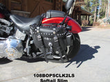 108 Deluxe Slight Angle Saddlebags