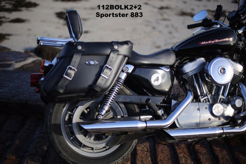 112 2 Longer Deluxe Wide Angle Saddlebags