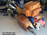 113 Large Luggage Rack Bag
