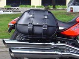 Leather Saddlebags for Victory Hammer and Victory Motorcycles