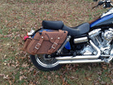 128 Deluxe Wide Angle Saddlebags