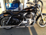 Small Saddlebags 2011 Sportster Super Low