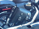 310T Small Sportster Leather Throw Over Bag