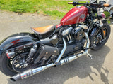 310T Small Saddlebags on 2016 Sportster Forty Eight