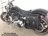 325 Gray Piping 2014 Harley Softail Breakout
