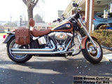 325 Brown Overlay 2008 Softail Fat Boy