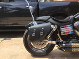 Right Side Solo Bag on Harley Street Bob