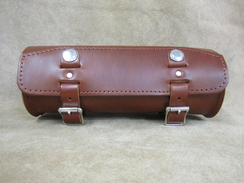 95 Medium Brown Leather Tool Bag