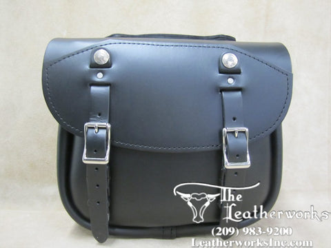 103 Pony Express Leather Saddlebags