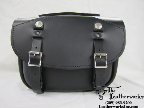 303 Short Pony Express Leather Bags