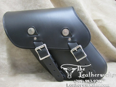 327A 2010+ Dyna Wide Left Side Solo Bag