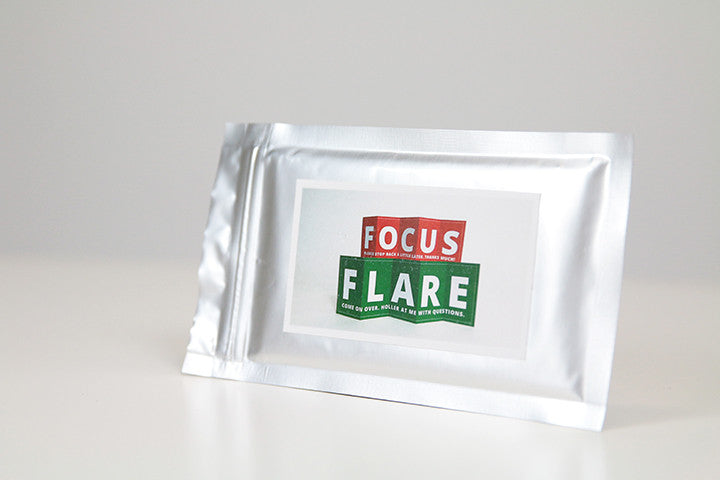 Focus & Flare Sign