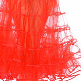 Crinoline RED Tea Length