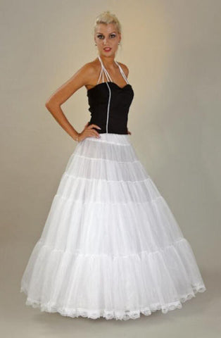 Petticoat Lace Floor Length