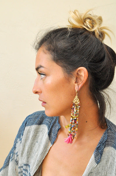 Les Pommettes Mix & Match Tribal Earring