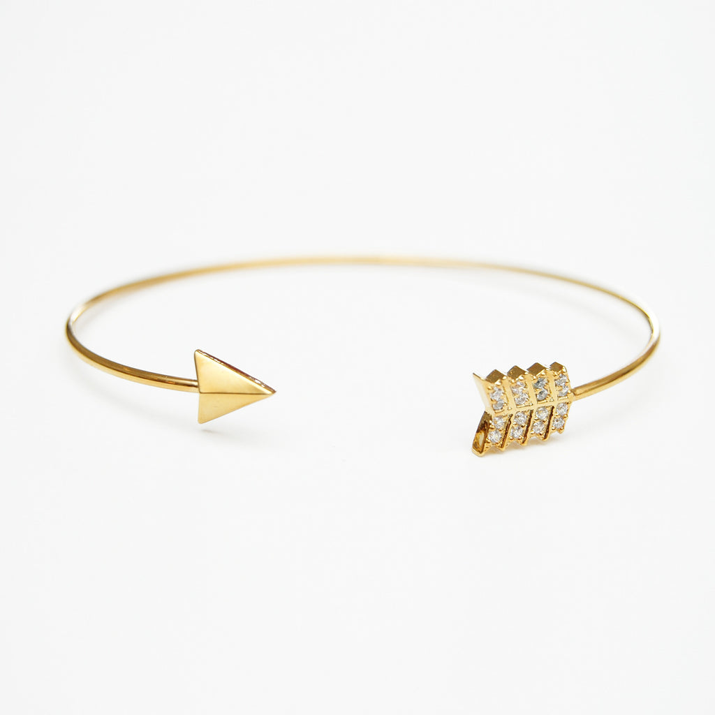 Tai Open Arrow Bangle