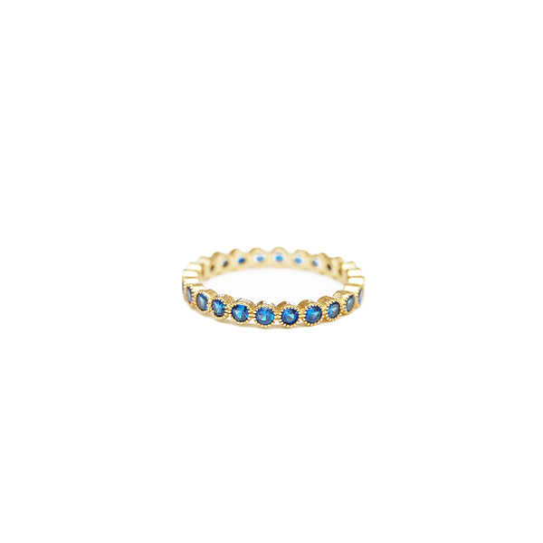 Seymour Blue Dot Ring