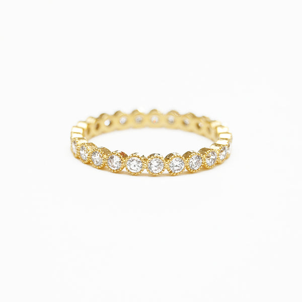 Seymour Clear Dot Ring