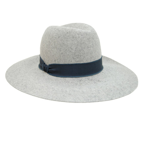 Hat Attack Taylor Large Brim Hat in Heather Grey