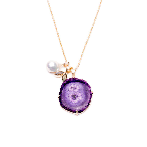 Kanupriya Amethyst Necklace