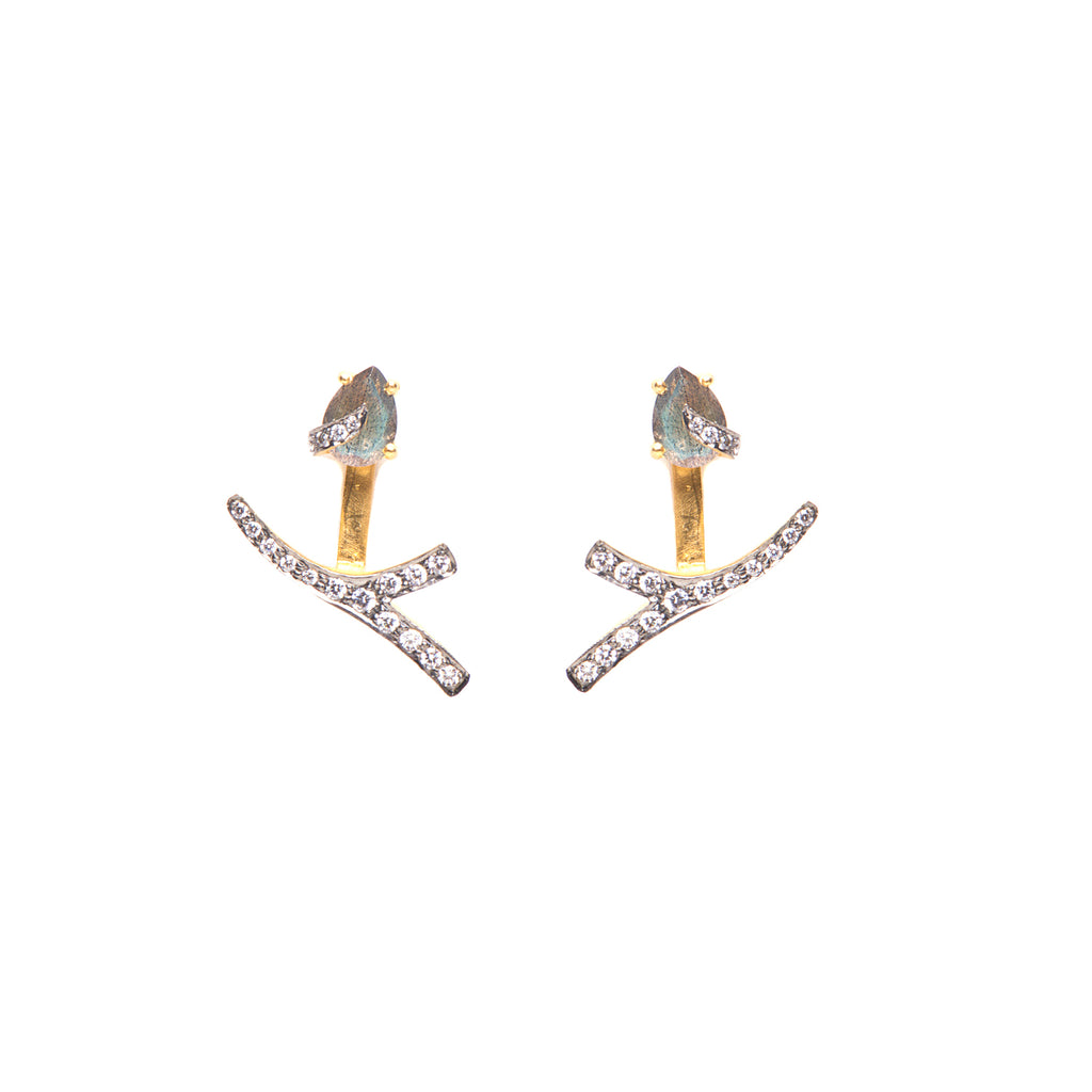 Kanupriya Labradorite Earrings