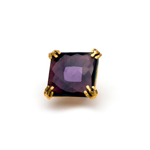 Kanupriya Amethyst Cocktail Ring