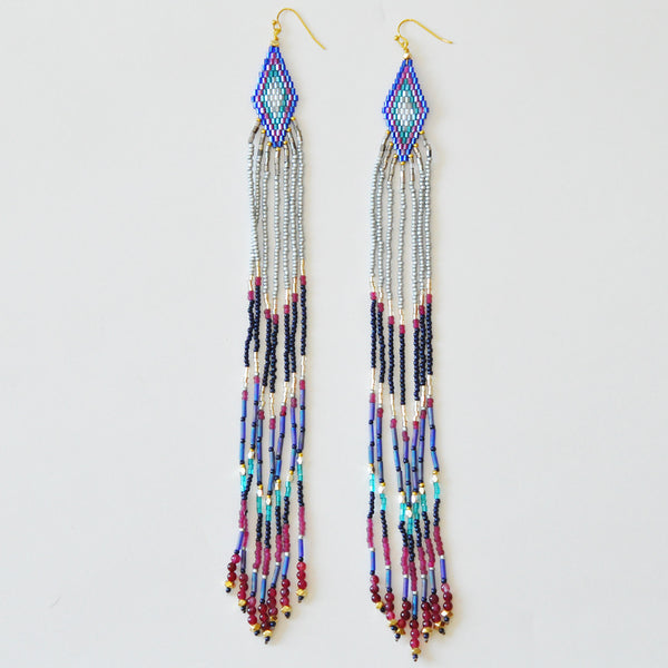 Nakamol Navajo Fringe Earrings